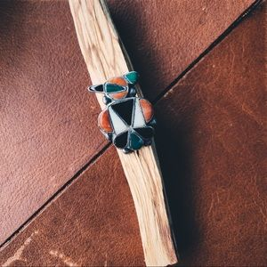 Jewelry - Turquoise Sterling Sliver Zuni NativeAmerican Ring